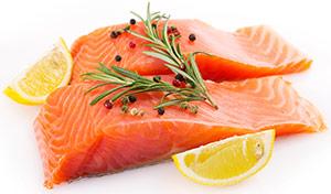 Fettreicher Fisch