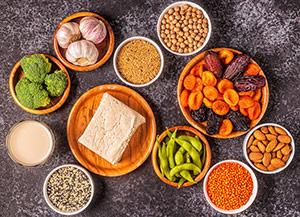 Bereiten Sie einen Ernährungsplan für die Menopause vor