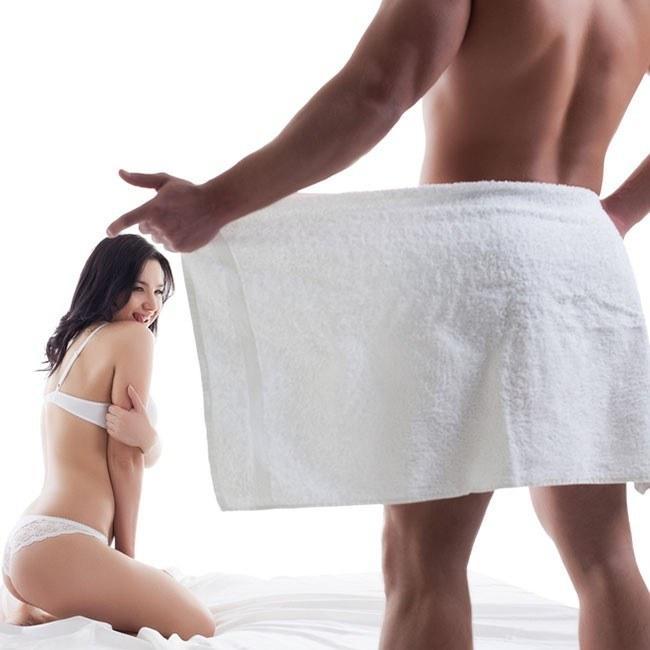 Was Frauen über die Penisgröße des Mannes denken