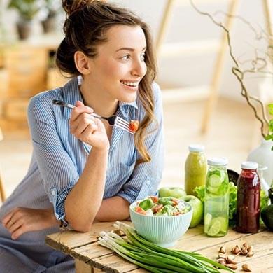 Gesunde Ernährung für schönere Haut