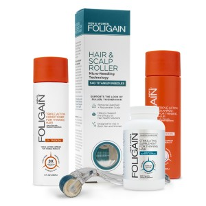 Foligain Männer Set | Combo für ausdünnendes Haar bei Männern