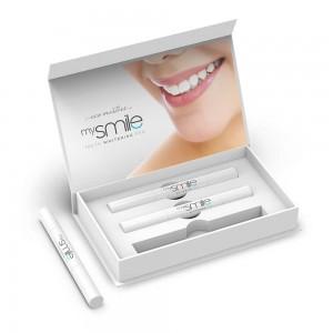 Eco Masters mySmile Teeth Whitening Pen - 3 x 2ml Natural Teeth Whitening Gel Pen