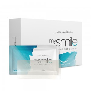 28 x Eco Masters mySmile Teeth Whitening Strips