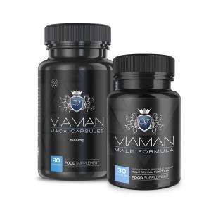 Viaman Set | Combo zur natürlichen männlichen Verstärkung
