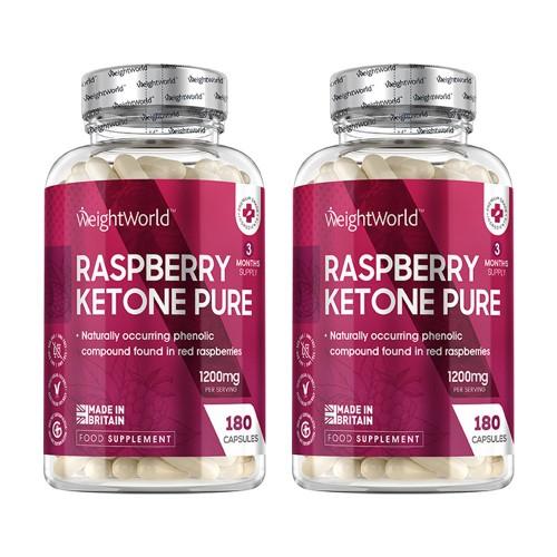 Raspberry Ketone Pur Kapseln - 2 Monate - Gesund & natürlich abnehmen