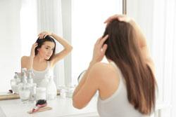 Haarausfall bei Frau