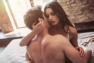 Frau und Mann mit normaler Libido